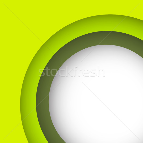 Abstract green background with copy space Stock photo © punsayaporn