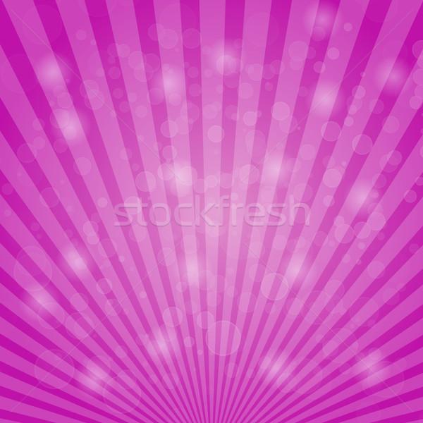 Abstract bokeh on pink background Stock photo © punsayaporn