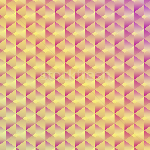Abstract seamless geometric cubic background Stock photo © punsayaporn
