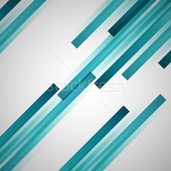Abstract background with green straight lines Stock photo © punsayaporn