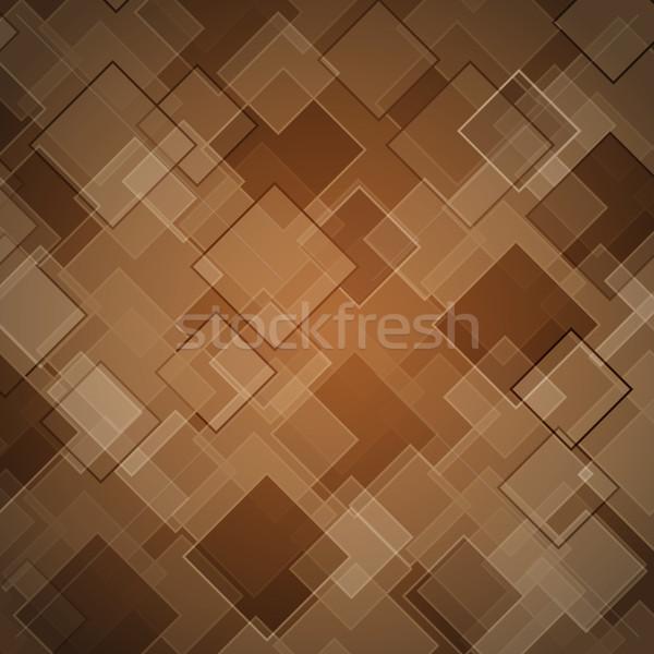 Abstract bruin voorraad vector achtergrond kunst Stockfoto © punsayaporn