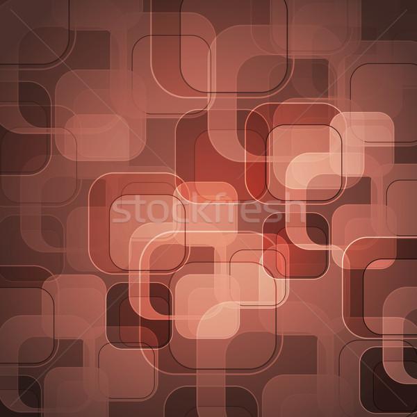 抽象的な バラ 金 長方形 在庫 ベクトル ストックフォト © punsayaporn