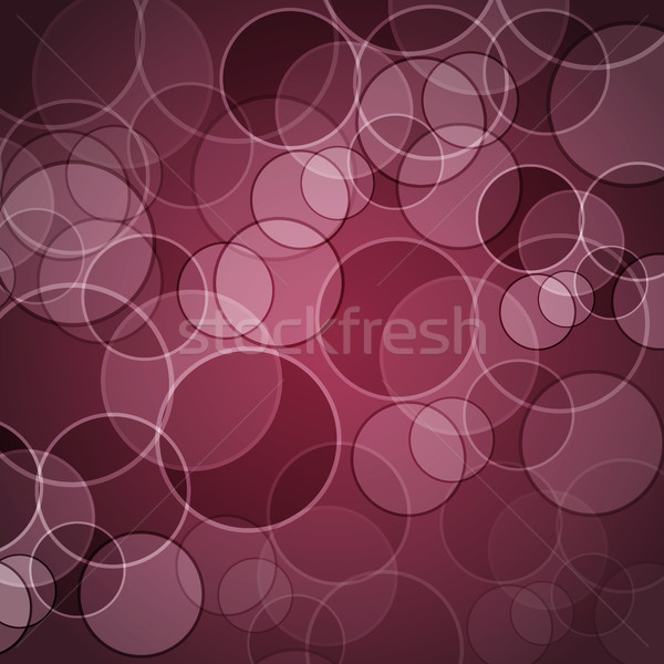 Abstract maroon background with circles Stock photo © punsayaporn