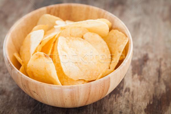Crujiente stock foto alimentos Foto stock © punsayaporn