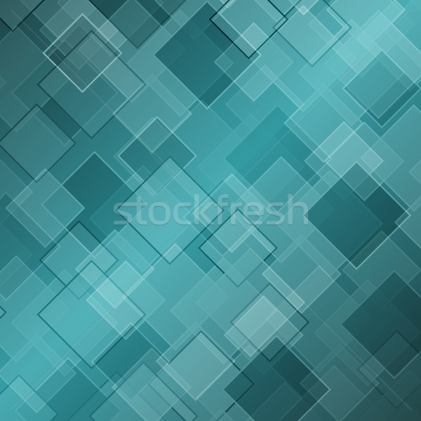 Abstract green background with rhombus Stock photo © punsayaporn