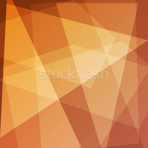 Abstract oranje ontwerp voorraad vector Maakt een reservekopie Stockfoto © punsayaporn
