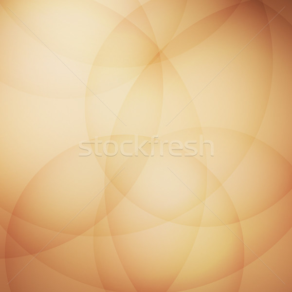 Stockfoto: Curve · element · bruin · voorraad · vector · abstract