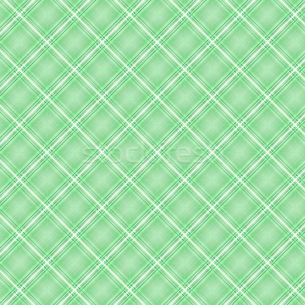 Senza soluzione di continuità cross verde diagonale pattern abstract Foto d'archivio © punsayaporn