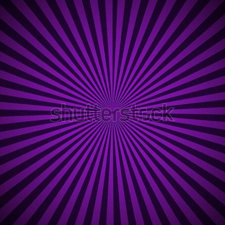 Purple radial rays abstract background Stock photo © punsayaporn