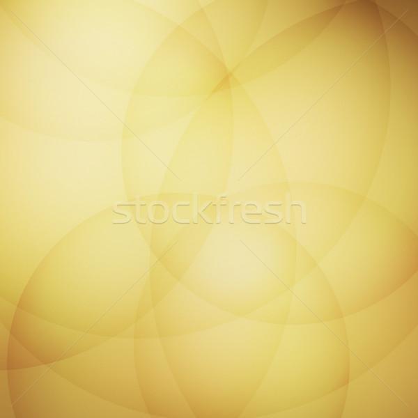 Eğri sarı stok vektör soyut Stok fotoğraf © punsayaporn