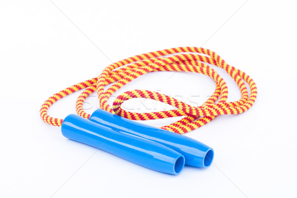 Skipping rope isolated on white background Stock photo © punsayaporn