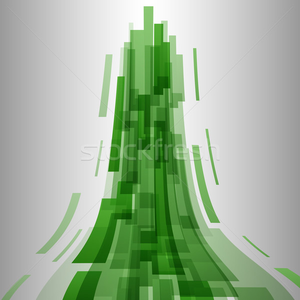 аннотация зеленый Элементы технологий складе вектора Сток-фото © punsayaporn