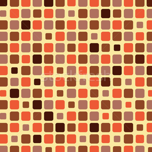 Orange shade tile mosaic background Stock photo © punsayaporn