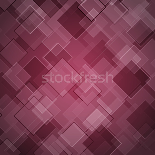 Abstract maroon background with rhombus Stock photo © punsayaporn