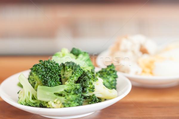 新鮮な 野菜 木製のテーブル 在庫 写真 フィールド ストックフォト © punsayaporn