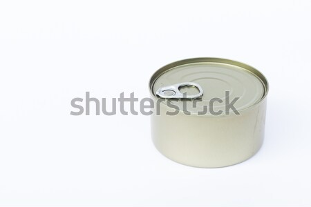 Close-up tin can isolated on white background  Stock photo © punsayaporn