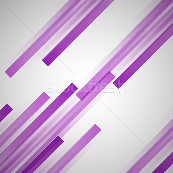 Abstract background with purple straight lines Stock photo © punsayaporn