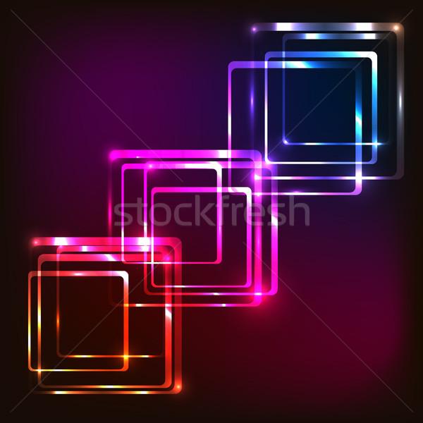 аннотация красочный складе вектора моде Сток-фото © punsayaporn