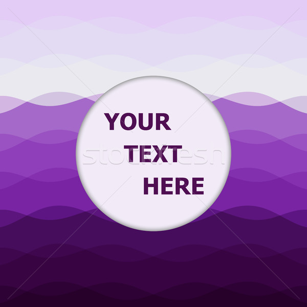 Abstract purple background with curve lines Stock photo © punsayaporn