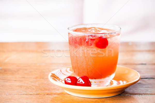 Chill out with iced mix fruits juice soda  Stock photo © punsayaporn