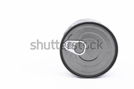 олово можете изолированный белый складе Сток-фото © punsayaporn