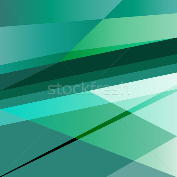 Abstract green background design template Stock photo © punsayaporn
