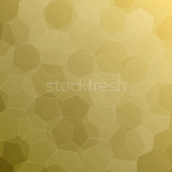 Soyut sarı stok vektör teknoloji sanat Stok fotoğraf © punsayaporn