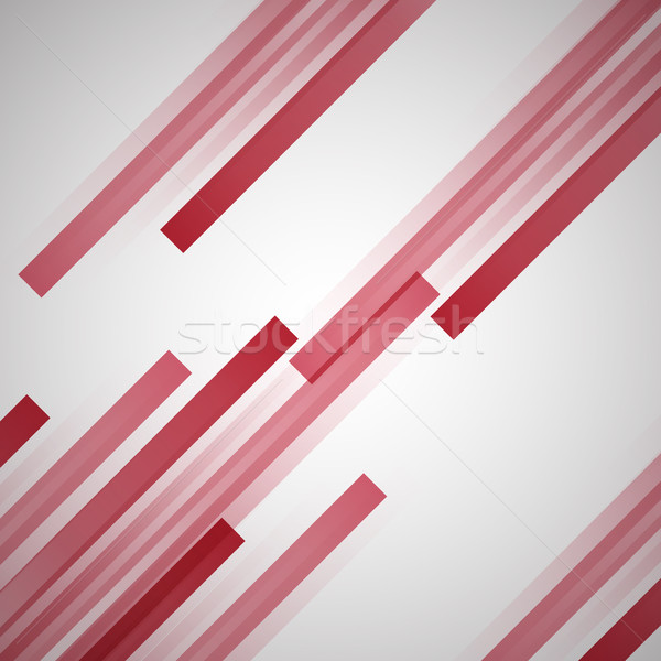 Abstract background with red straight lines Stock photo © punsayaporn