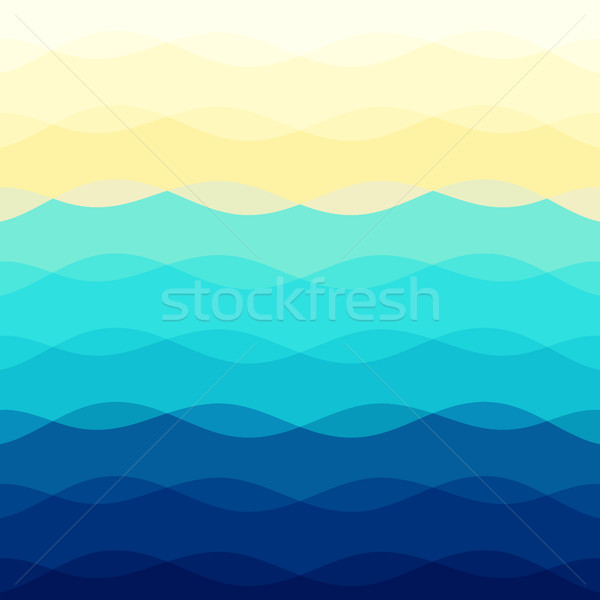 Abstract colorful background with curve lines Stock photo © punsayaporn
