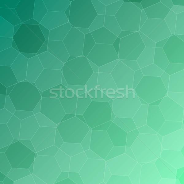 Stockfoto: Abstract · groene · voorraad · vector · technologie · kunst