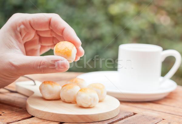 ストックフォト: 手 · ミニ · 中国語 · ケーキ · 在庫