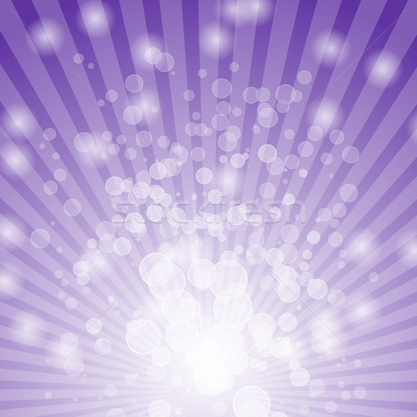 Abstract bokeh on violet background Stock photo © punsayaporn