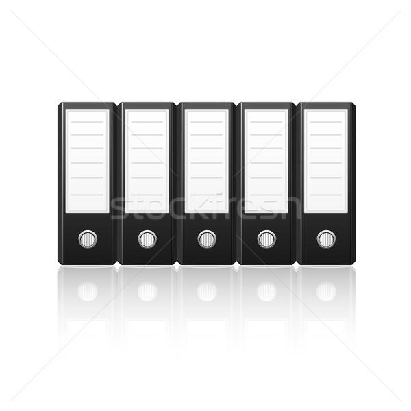 Black binders Stock photo © punsayaporn
