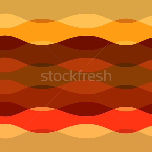 抽象的な カラフル 曲線 行 在庫 ベクトル ストックフォト © punsayaporn