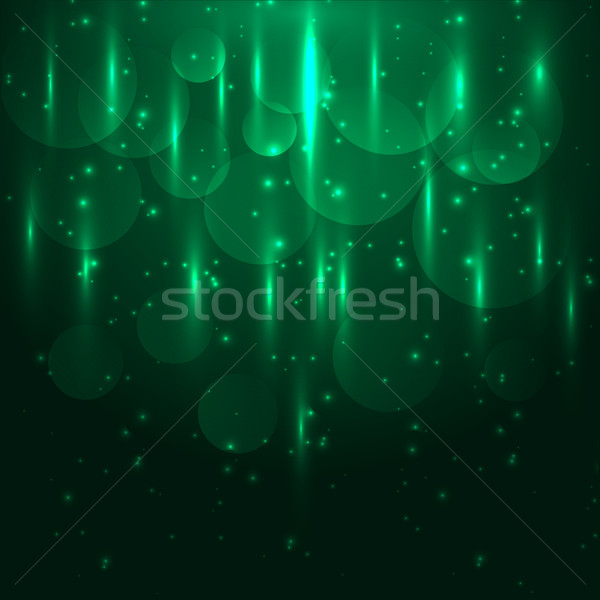 Abstract groene licht bokeh voorraad Stockfoto © punsayaporn