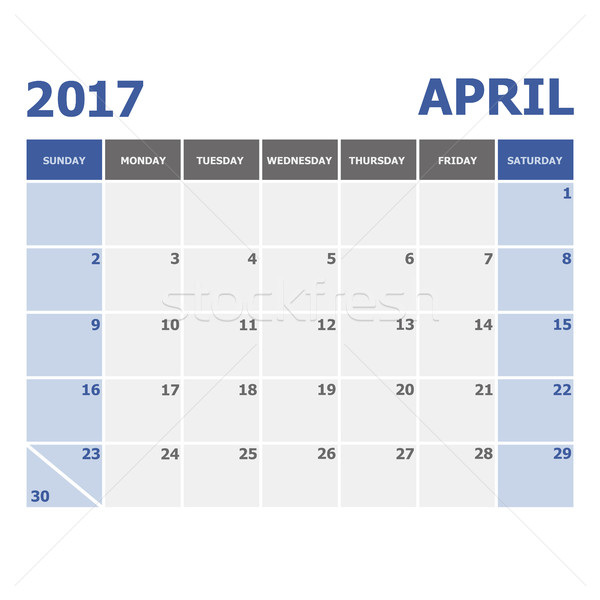 カレンダー 在庫 ベクトル オフィス 色 ストックフォト © punsayaporn