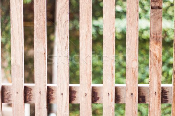Stock foto: Alten · Holz · Textur · hat · Foto · Wand