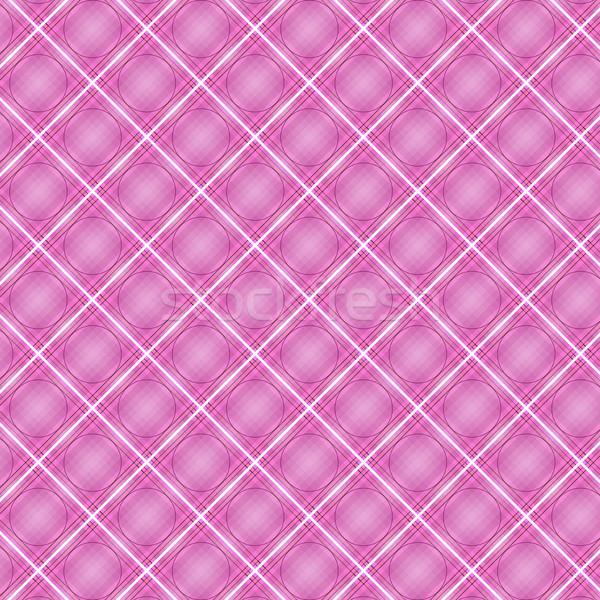 Senza soluzione di continuità cross rosa diagonale pattern abstract Foto d'archivio © punsayaporn