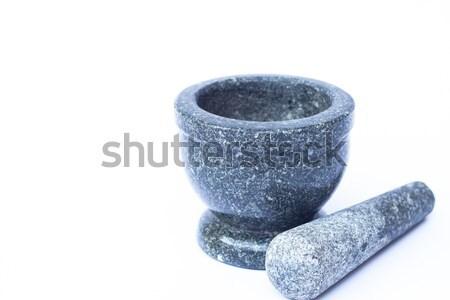 Kő fehér stock fotó étel laboratórium Stock fotó © punsayaporn