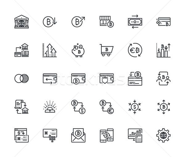 Stockfoto: Iconen · premie · kwaliteit · schets · symbool · collectie