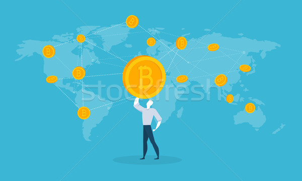 Bitcoin Stock photo © PureSolution