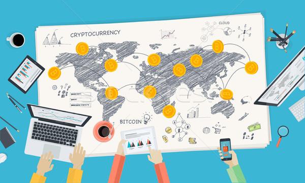Bitcoin Stock photo © PureSolution