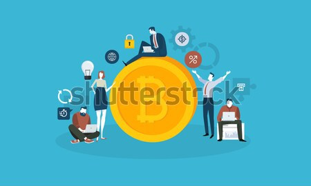Bitcoin technology market Stock photo © PureSolution