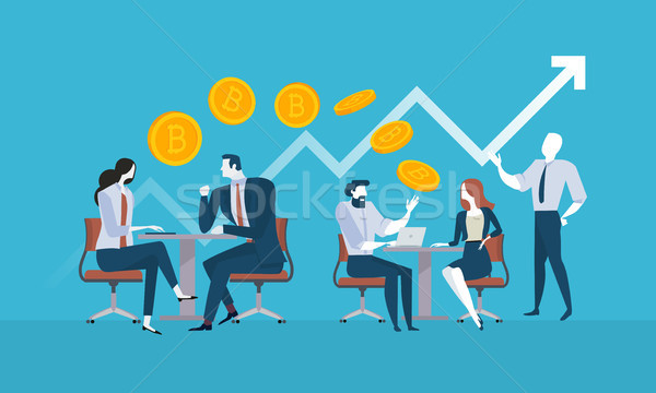 Bitcoin consulting Stock photo © PureSolution