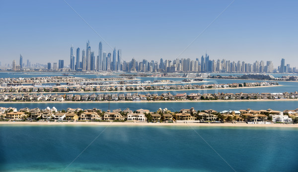 Dubai skyline. United Arab Emirates Stock photo © PureSolution
