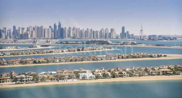 Panorama of Dubai Marina, UAE Stock photo © PureSolution