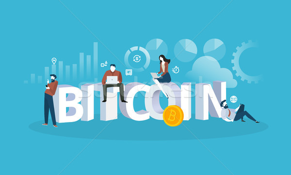 Bitcoin exchange Stock photo © PureSolution