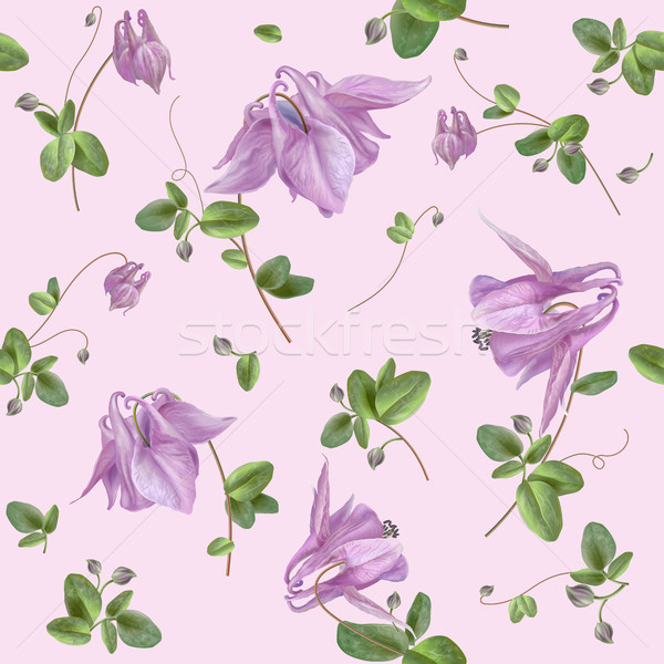 Floral seamless pattern Stock photo © PurpleBird