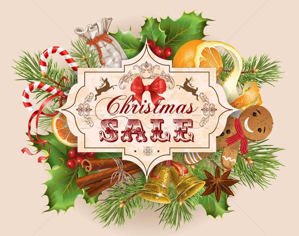 Christmas sale banner Stock photo © PurpleBird