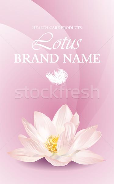 Banner vector gezondheidszorg verticaal witte Stockfoto © PurpleBird